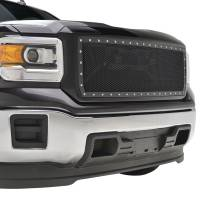 Paramount Automotive - Black Evolution Stainless Steel Wire Mesh Packaged Grille #46-0249 - Image 5