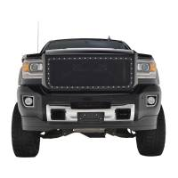 Paramount Automotive - Black Evolution Stainless Steel Wire Mesh Packaged Grille #46-0250 - Image 3