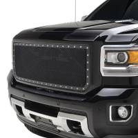 Paramount Automotive - Black Evolution Stainless Steel Wire Mesh Packaged Grille #46-0250 - Image 4