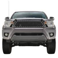 Paramount Automotive - Black Evolution Stainless Steel Wire Mesh Packaged Grille #46-0253 - Image 2