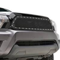 Paramount Automotive - Black Evolution Stainless Steel Wire Mesh Packaged Grille #46-0253 - Image 3