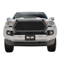 Paramount Automotive - Black Evolution Stainless Steel Wire Mesh Packaged Grille #46-0254 - Image 3