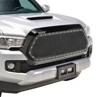 Paramount Automotive - Black Evolution Stainless Steel Wire Mesh Packaged Grille #46-0254 - Image 5