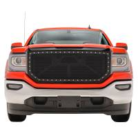 Paramount Automotive - Black Evolution Stainless Steel Wire Mesh Packaged Grille #46-0255 - Image 2