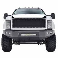 Paramount Automotive - Chrome Shell/Black Mesh Evolution Stainless Steel Wire Mesh Packaged Grille #46-0303 - Image 3