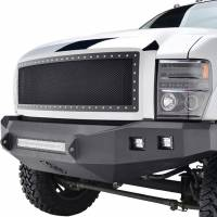 Paramount Automotive - Chrome Shell/Black Mesh Evolution Stainless Steel Wire Mesh Packaged Grille #46-0303 - Image 4