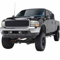 Paramount Automotive - Chrome Shell/Black Mesh Evolution Stainless Steel Wire Mesh Packaged Grille #46-0305 - Image 1