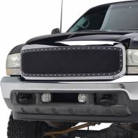 Paramount Automotive - Chrome Shell/Black Mesh Evolution Stainless Steel Wire Mesh Packaged Grille #46-0305 - Image 4