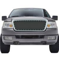 Paramount Automotive - Chrome Shell/Black Mesh Evolution Stainless Steel Wire Mesh Packaged Grille #46-0307 - Image 2
