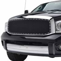 Paramount Automotive - Chrome Shell/Black Mesh Evolution Stainless Steel Wire Mesh Packaged Grille #46-0312 - Image 4