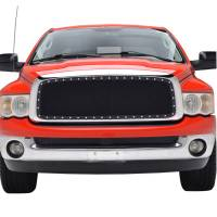 Paramount Automotive - Chrome Shell/Black Mesh Evolution Stainless Steel Wire Mesh Packaged Grille #46-0313 - Image 2