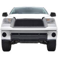 Paramount Automotive - Chrome Shell/Black Mesh Evolution Stainless Steel Wire Mesh Packaged Grille #46-0317 - Image 2