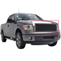 Paramount Automotive - Chrome Shell/Black Mesh Evolution Stainless Steel Wire Mesh Packaged Grille #46-0324 - Image 2