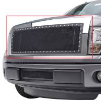 Paramount Automotive - Chrome Shell/Black Mesh Evolution Stainless Steel Wire Mesh Packaged Grille #46-0324 - Image 4