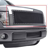 Paramount Automotive - Chrome Shell/Black Mesh Evolution Stainless Steel Wire Mesh Packaged Grille #46-0324 - Image 5