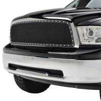 Paramount Automotive - Chrome Shell/Black Mesh Evolution Stainless Steel Wire Mesh Packaged Grille #46-0329 - Image 3
