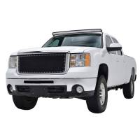 Paramount - Chrome Shell/Black Mesh Evolution Stainless Steel Wire Mesh Packaged Grille #46-0333 - Image 1