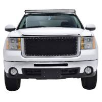 Paramount - Chrome Shell/Black Mesh Evolution Stainless Steel Wire Mesh Packaged Grille #46-0333 - Image 3