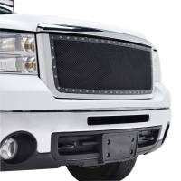 Paramount - Chrome Shell/Black Mesh Evolution Stainless Steel Wire Mesh Packaged Grille #46-0333 - Image 5
