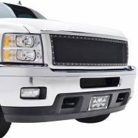 Paramount Automotive - Chrome Shell/Black Mesh Evolution Stainless Steel Wire Mesh Packaged Grille #46-0335 - Image 5
