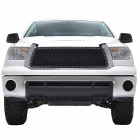 Paramount Automotive - Chrome Shell/Black Mesh Evolution Stainless Steel Wire Mesh Packaged Grille #46-0336 - Image 2