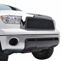 Paramount Automotive - Chrome Shell/Black Mesh Evolution Stainless Steel Wire Mesh Packaged Grille #46-0336 - Image 4