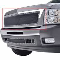 Paramount Automotive - Chrome Shell/Black Mesh Evolution Stainless Steel Wire Mesh Packaged Grille #46-0343 - Image 3