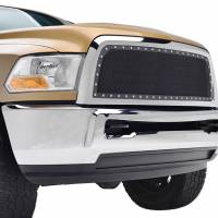 Paramount Automotive - Chrome Shell/Black Mesh Evolution Stainless Steel Wire Mesh Packaged Grille #46-0345 - Image 4