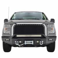 Paramount - Chrome Shell/Black Mesh Evolution Stainless Steel Wire Mesh Packaged Grille #46-0348 - Image 2