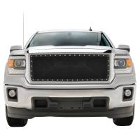 Paramount Automotive - Chrome Shell/Black Mesh Evolution Stainless Steel Wire Mesh Packaged Grille #46-0349 - Image 2