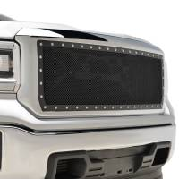 Paramount Automotive - Chrome Shell/Black Mesh Evolution Stainless Steel Wire Mesh Packaged Grille #46-0349 - Image 3