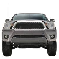 Paramount Automotive - Chrome Shell/Black Mesh Evolution Stainless Steel Wire Mesh Packaged Grille #46-0353 - Image 2