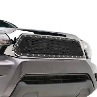 Paramount Automotive - Chrome Shell/Black Mesh Evolution Stainless Steel Wire Mesh Packaged Grille #46-0353 - Image 3
