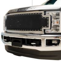 Paramount Automotive - Evolution Chrome/Black Stainless Steel Wire Mesh Packaged Grille #46-0356 - Image 4