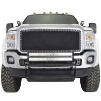 Paramount Automotive - Black Evolution Stainless Steel Wire Mesh Cutout Grille #46-0701 - Image 3