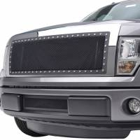Paramount Automotive - Black Evolution Stainless Steel Wire Mesh Cutout Grille #46-0702 - Image 4