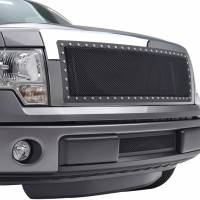 Paramount Automotive - Black Evolution Stainless Steel Wire Mesh Cutout Grille #46-0702 - Image 5