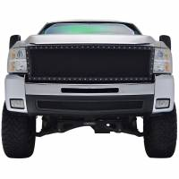 Paramount Automotive - Black Evolution Stainless Steel Wire Mesh Cutout Grille #46-0708 - Image 2