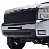 Paramount Automotive - Black Evolution Stainless Steel Wire Mesh Cutout Grille #46-0708 - Image 3