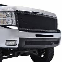 Paramount Automotive - Black Evolution Stainless Steel Wire Mesh Cutout Grille #46-0708 - Image 4