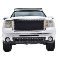 Paramount Automotive - Black Evolution Stainless Steel Wire Mesh Cutout Grille #46-0713 - Image 3