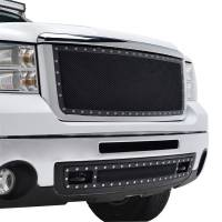 Paramount Automotive - Black Evolution Stainless Steel Wire Mesh Cutout Grille #46-0713 - Image 5