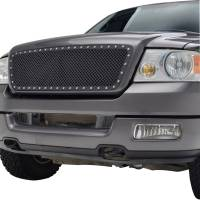 Paramount Automotive - Black Evolution Stainless Steel Wire Mesh Cutout Grille #46-0724 - Image 3
