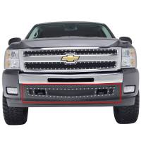 Paramount Automotive - Black Evolution Stainless Steel Wire Mesh Cutout Grille #46-0725 - Image 2