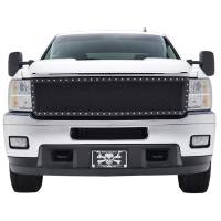 Paramount Automotive - Black Evolution Stainless Steel Wire Mesh Cutout Grille #46-0730 - Image 3