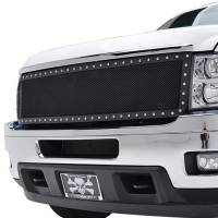 Paramount Automotive - Black Evolution Stainless Steel Wire Mesh Cutout Grille #46-0730 - Image 4