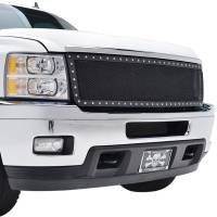 Paramount Automotive - Black Evolution Stainless Steel Wire Mesh Cutout Grille #46-0730 - Image 5