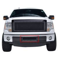 Paramount Automotive - Black Evolution Stainless Steel Wire Mesh Cutout Grille #46-0744 - Image 2