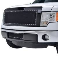 Paramount Automotive - Black Evolution Stainless Steel Wire Mesh Cutout Grille #46-0744 - Image 3