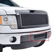 Paramount Automotive - Black Evolution Stainless Steel Wire Mesh Cutout Grille #46-0744 - Image 4